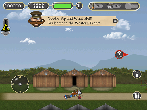 [FREE GAME] Air Ace for iPhone by Greedy Robot Screenshot.ipad_.westernfront.thumb_